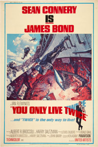 """You Only Live Twice (United Artists, 1967). Poster (40"""" X 60"""")"""