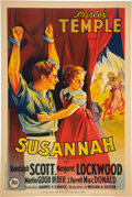 "Movie Posters:Drama, Susannah of the Mounties (20th Century Fox, 1939). French Grande(47"" X 63"").. ..."