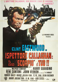 "Movie Posters:Crime, Dirty Harry (Warner Brothers, 1971). Italian 4 - Folio (55"" X78"").. ..."