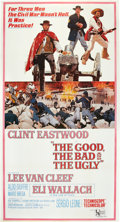 "Movie Posters:Western, The Good, the Bad and the Ugly (United Artists, 1968). Three Sheet(41"" X 81"").. ..."