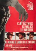 "Movie Posters:Western, The Good, the Bad and the Ugly (PEA, 1966). Italian 4 - Folio (55""X 78"").. ..."