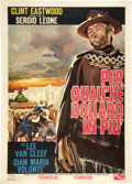 "Movie Posters:Western, For a Few Dollars More (PEA, 1965). Italian 2 - Folio (39"" X 55"").. ..."