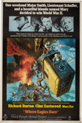 """Movie Posters:War, Where Eagles Dare (MGM, 1968). Poster (40"""" X 60"""").. ..."""