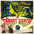 """Movie Posters:Science Fiction, Target Earth (Allied Artists, 1954). Six Sheet (81"""" X 81"""").. ..."""