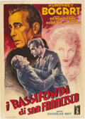 "Movie Posters:Film Noir, Knock on Any Door (Columbia, 1949). Italian 2 - Folio (39"" X 55"")....."