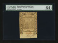 Colonial Notes:Rhode Island, Rhode Island May 1786 10s PMG Choice Uncirculated 64 EPQ....