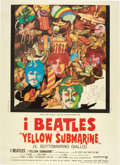 "Movie Posters:Animated, Yellow Submarine (United Artists, 1968). Italian 2 - Folio (39"" X 55"").. ..."