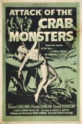 """Movie Posters:Science Fiction, Attack of the Crab Monsters (Allied Artists, 1957). Poster (40"""" X 60"""").. ..."""