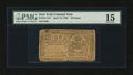 Colonial Notes:New York, New York April 15, 1758 £10 PMG Choice Fine 15....