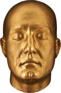 Movie/TV Memorabilia:Original Art, George Reeves Life Mask....