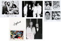 Movie/TV Memorabilia:Autographs and Signed Items, Assorted Celebrity Autographs Including Tony Bennett and Others....(Total: 5 )