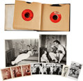 Music Memorabilia:Recordings, Johnny Cash Vintage Photo and Records (1950s-60s).... (Total: 34 Items)