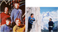 Movie/TV Memorabilia:Autographs and Signed Items, Star Trek Original Series Cast-Signed Photos.... (Total: 2 )