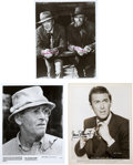 Movie/TV Memorabilia:Autographs and Signed Items, James Stewart and Henry Fonda Signed Photos.... (Total: 3 )
