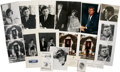 Movie/TV Memorabilia:Memorabilia, John F. Kennedy Photographs and Ephemera Collection....