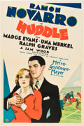 "Movie Posters:Drama, The Huddle (MGM, 1932). One Sheet (27"" X 41"") Style C.. ..."