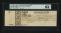 Colonial Notes:Maryland, Maryland 1733 1s PMG Choice Uncirculated 63 EPQ....