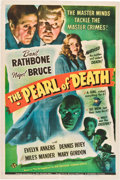 "Movie Posters:Mystery, The Pearl of Death (Universal, 1944). One Sheet (27"" X 41"").. ..."