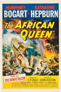 "Movie Posters:Adventure, The African Queen (United Artists, 1952). One Sheet (27"" X 41"")....."