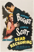 """Movie Posters:Film Noir, Dead Reckoning (Columbia, 1947). One Sheet (27"""" X 41"""") Style B....."""