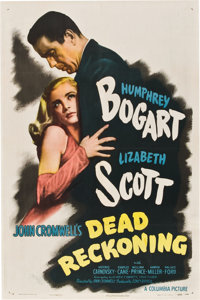 "Dead Reckoning (Columbia, 1947). One Sheet (27"" X 41"") Style B"