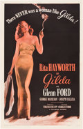 "Movie Posters:Film Noir, Gilda (Columbia, R-1950). One Sheet (27"" X 41"").. ..."