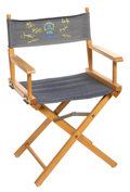 Movie/TV Memorabilia:Memorabilia, NYPD Blue Director's Chair....