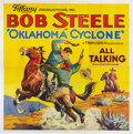 "Movie Posters:Western, Oklahoma Cyclone (Tiffany, 1930). Six Sheet (81"" X 81"").. ..."