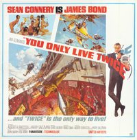 "You Only Live Twice (United Artists, 1967). Six Sheet (81"" X 81"")"
