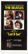 """Movie Posters:Rock and Roll, Let It Be (United Artists, 1970). Three Sheet (41"""" X 81"""").. ..."""