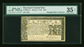 Colonial Notes:Maryland, Maryland March 1, 1770 $2/3 PMG Choice Very Fine 35 EPQ....