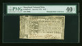 Colonial Notes:Maryland, Maryland April 10, 1774 $1/2 with Full Left Indent PMG ExtremelyFine 40 EPQ....