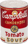 "Estate Jewelry:Purses, Austrian Crystal, Yellow Metal, ""Campbell's Tomato Soup Can"" Evening Bag, Kathrine Baumann. ..."