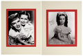 Movie/TV Memorabilia:Autographs and Signed Items, Margaret O'Brien Signed Photos.... (Total: 2 )