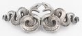 Silver Smalls:Buckles, AN AMERICAN SILVER BELT BUCKLE. William B. Kerr & Co., Newark,New Jersey, circa 1890. Marks: (fasces), STERLING, 366. 1...(Total: 2 Items)