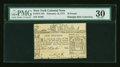 Colonial Notes:New York, New York February 16, 1771 £10 PMG Very Fine 30....