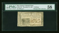 Colonial Notes:New Jersey, New Jersey December 31, 1763 3s PMG Choice About Unc 58....