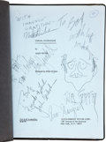 Movie/TV Memorabilia:Autographs and Signed Items, Jack Nicholson, Ann-Margret, and Others Signed CarnalKnowledge Script. ...