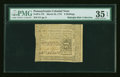 Colonial Notes:Pennsylvania, Pennsylvania March 25, 1775 6s PMG Choice Very Fine 35 EPQ....
