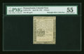Colonial Notes:Pennsylvania, Pennsylvania April 20, 1781 3d PMG About Uncirculated 55....