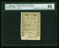 Colonial Notes:Rhode Island, Rhode Island May 1786 3s PMG Choice Extremely Fine 45....