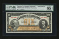 Canadian Currency: , Quebec City, PQ- La Banque Nationale $10 November 2, 1922 Ch #510-22-04S. ...