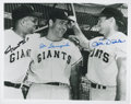 Autographs:Photos, Baseball Hall of Famers Signed Photographs Pair. ... (Total: 2items)