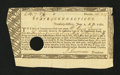 Colonial Notes:Connecticut, Connecticut Fiscal Paper. June 1, 1780. Very Fine....
