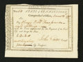 Colonial Notes:Connecticut, Connecticut Civil List. December 31, 1793. Extremely Fine-AboutNew....