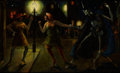 Fine Art - Painting, American:Modern  (1900 1949)  , HANS WERNER-BEHN (American, 20th Century). Dance of Death,1926. Oil on board. 17 x 27-1/2 inches (43.2 x 69.9 cm). Sign...