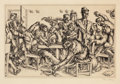 Fine Art - Work on Paper:Print, PAUL CADMUS (American, 1904-1999). Stewarts, 1934. Etching on paper. Plate: 7-7/8 x 12 inches (20.1 x 30.5 cm). Sheet: 1...