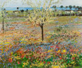 Paintings, MICHELE CASCELLA (Italian, 1892-1989). Spring. Oil on canvas. 20 x 23-3/4 inches (50.8 x 60.3 cm). Signed lower right: ...