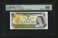 Canadian Currency: , BC-46a $1 1973 Solid 6's Serial Number. ...