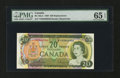 Canadian Currency: , BC-50aA $20 1969. ...